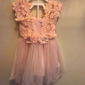 Other - Light Pink Lace and Tulle Dress